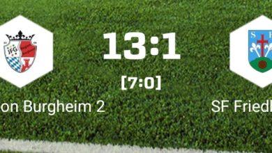 Bild von D2 gewinnt Heimspiel gegen SF Friedberg 2