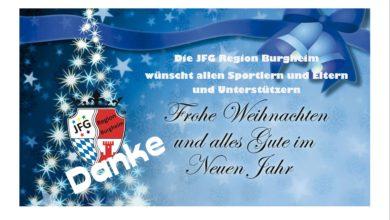 Bild von Die JFG Region Burgheim wünscht Euch eine ruhige, gesunde und besinnliche Weihnachtzeit